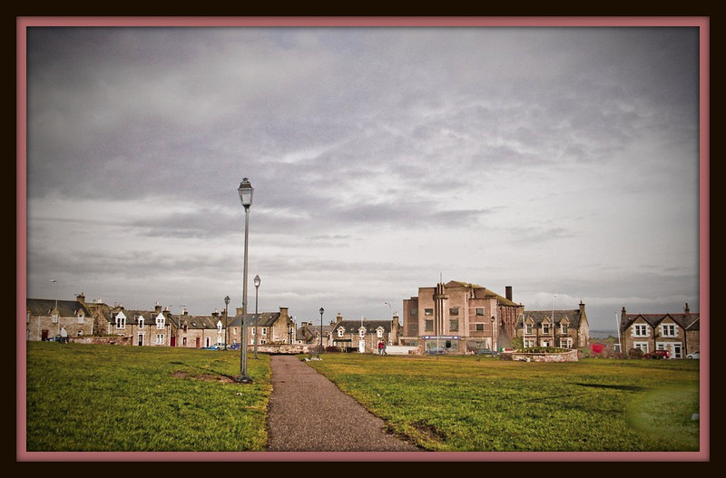 James Square and Former Regal Cinema, Lossiemouth