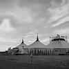 Circus Tent  B&W 01