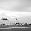 Circus Tent  B&W 06