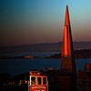 San Francisco Icons at Sunset