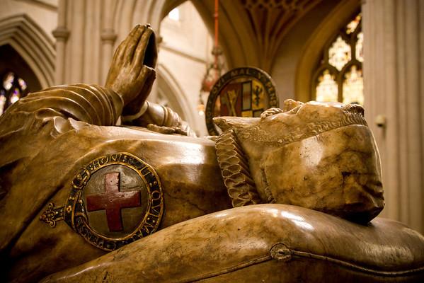 Bishop Montague's Tomb - Bath Abbey