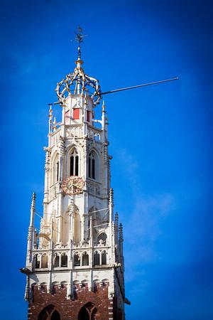 Tower of Bovo Church, Haarlem