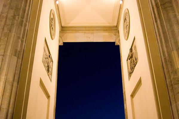 Through the Brandburg Gate