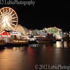 Navy Pier, Chicago, Illinois by night