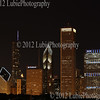Chicago downtown - night view