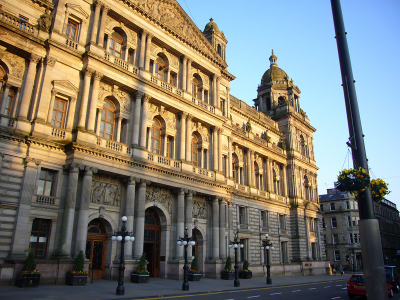 City Chambers, Glasgow, Scotland. Designed by William Young and built 1883–8.