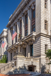 Flags on City Hall