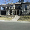 Classic Mediterranean Home in Crestmoor.  Outdoor loggias and arcades are perfect for our Colorado climate.