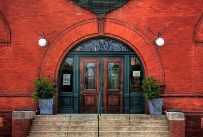 Old Camden Post Office Entrance - Camden, AR