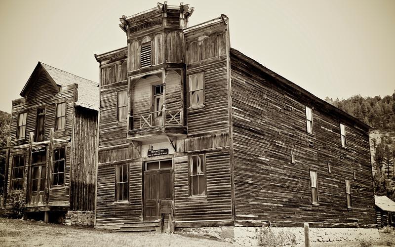 Elkhorn Mining Town