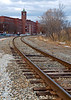 Mill Tracks (Amoskeag Mills)<br /> These are still used for freight, but the mills are now offices. <br /> Jan 2010