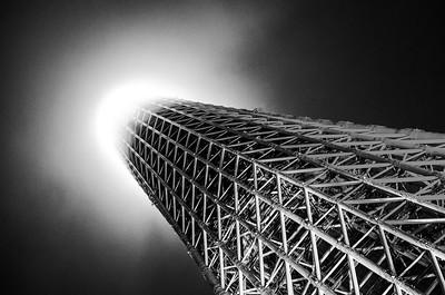 Skytree Vortex Monochrome