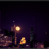 Smith Tower Moon