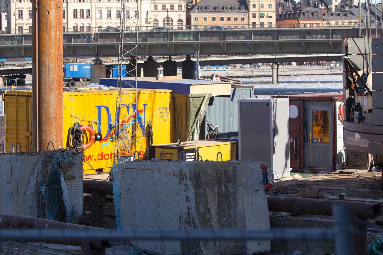 Citybanan i Stockholm 2013-03-16