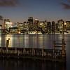 Boston at Late Dusk