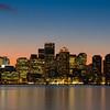 Boston at Dusk