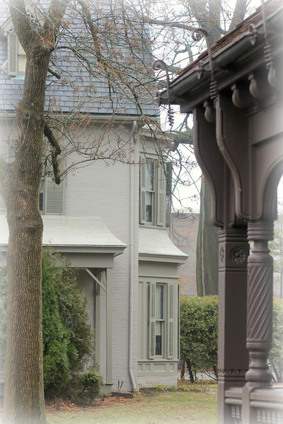 Harriet Beecher Stowe home View from Niece Katherine Day's home copyrt 2015 m burgess