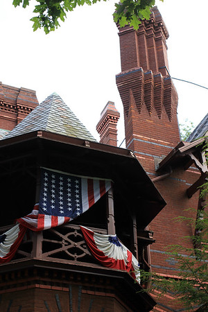 Independence day at Mark Twain House   - copyrt 2015 m burgess