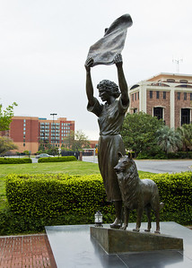 """Waving Girl"" Statue - Savannah, GA"