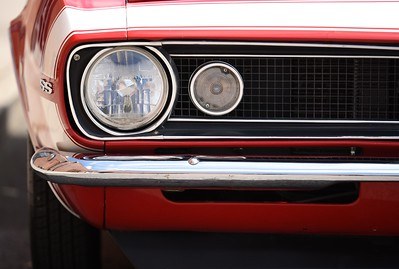 SS Muscle Car Headlight