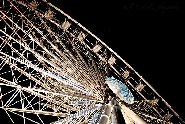 Niagara Falls Ferris Wheel Niagara Falls, Ontario December 2011