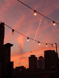 Sunset at IEBA