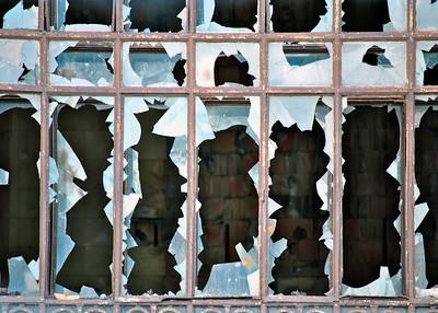 'Shattered' ~ Michigan Train Depot, Detroit, Michican