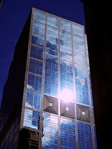 Blue Reflection in Toronto