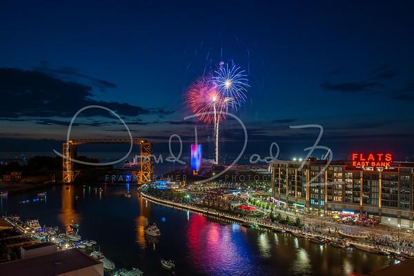 Cleveland July 4th 2018 Fireworks