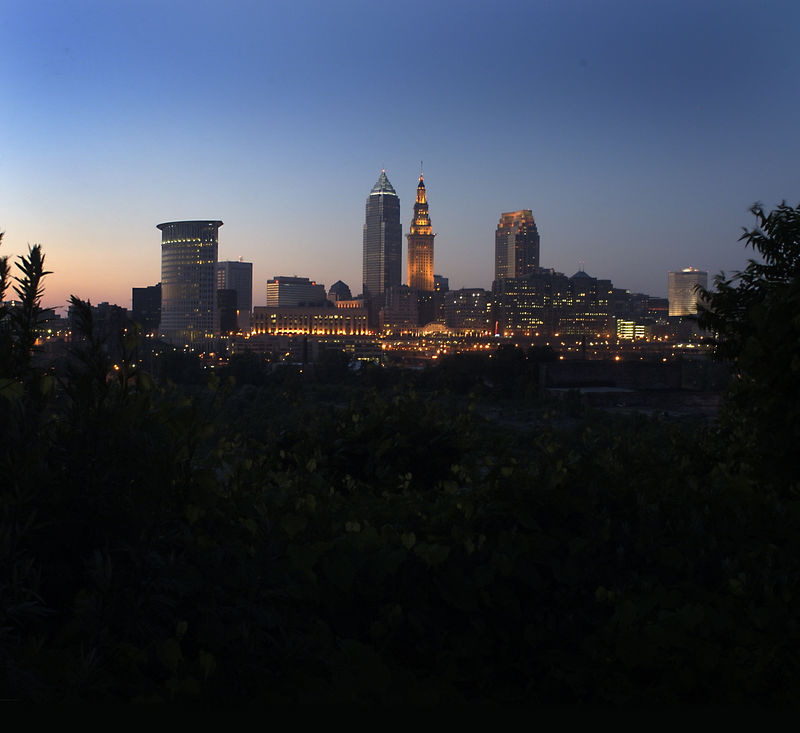 """""""Cleveland From River"""""""