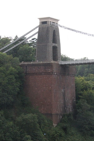 West Pier<br /> Clifton Suspension Bridge<br /> 18 July 2015