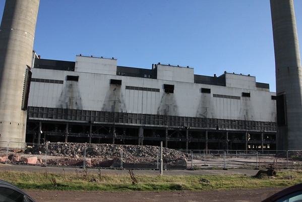 Boiler House after the precipitators have been removed
