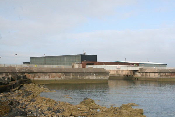 CW Pumphouse and CW outfall