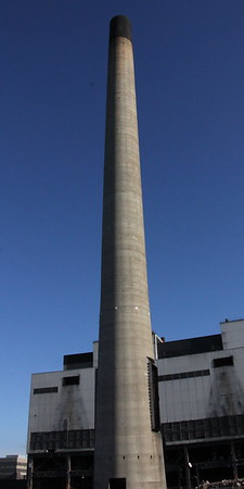 East Chimney after the gas ducts have been removed,