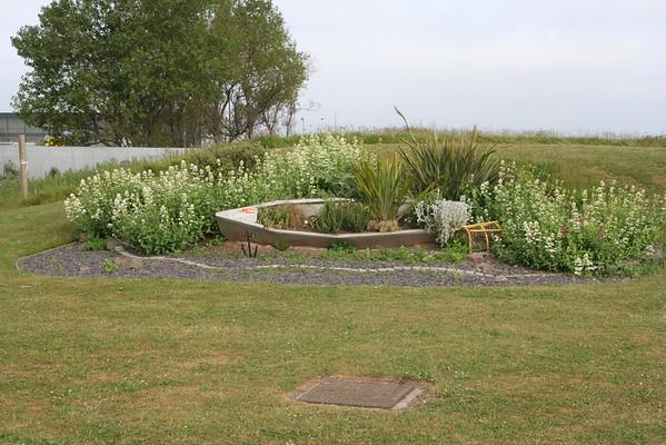 Garden in front of Cockenzie Harbour