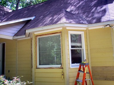 Day 10 - Rebuilding Den Bay Windows