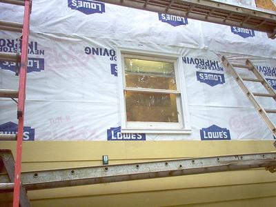 Day 10 - Rebuilt Kitchen Window.