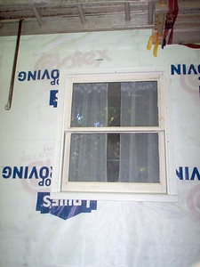 Day 8 - Bathroom window rebuild detail