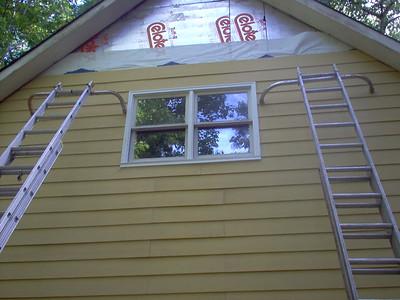 Day 6 - Bedroom window rebuilt