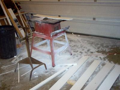 Plastic Sawdust galore