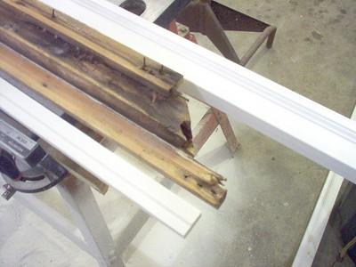 PVC Window Trim Fabrication