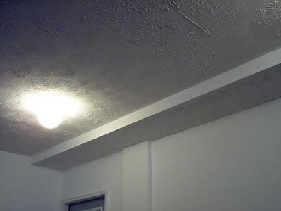New light fixtures in garage.