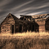 A typical homestead from the days of the gold rush, near Victor, Colorado.
