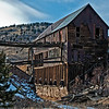 A gold mine near the mining town of Cripple Creek, Colorado.