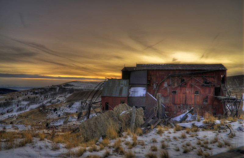 The Vindicator Gold Mine in Victor, Colorado.