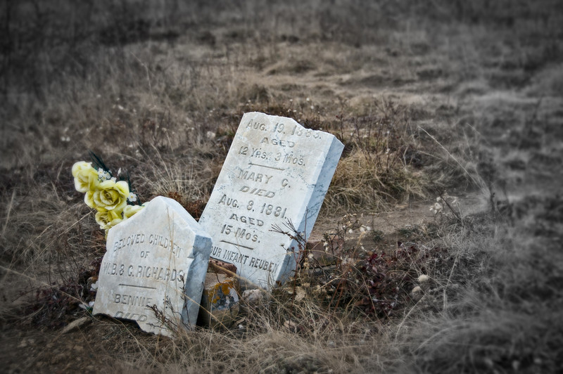 Colorado history from the Blackhawk Cemetery