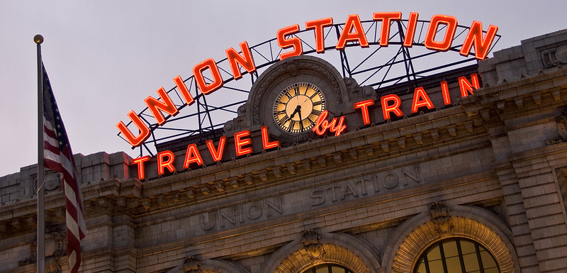 Union Station in lower downtown, Denver, Colorado