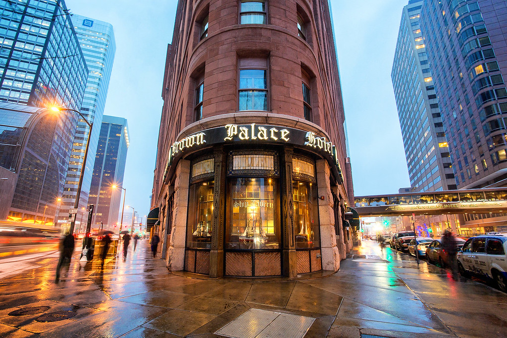 The Brown Palace Hotel in Denver