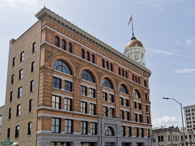 The Dome Building in Chattanooga