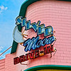 Silver Moon Drive-In Sign